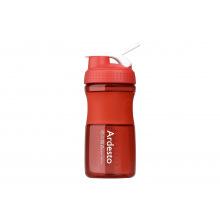 Бутылка Ardesto для води 600 мл, червона, тритан (AR2202TR)