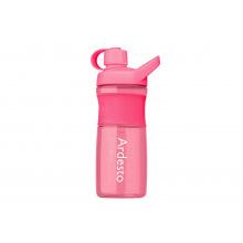 Бутылка Ardesto для води 800 мл, рожева, тритан (AR2203TR)