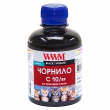 Чорнило WWM C10 Black для Canon 200г (C10/BP) пігментне