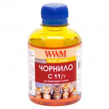 Чернила WWM C11 Yellow для Canon 200г (C11/Y) водорастворимые