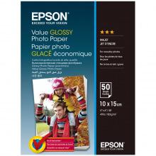 Фотобумага Epson Value Glossy Photo Paper 183 г/м кв, 10 x 15см, 50 л. (C13S400038)