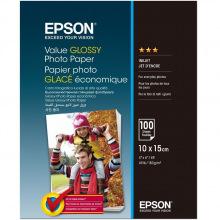 Фотобумага Epson Value Glossy Photo Paper 183 г/м кв, 10 x 15см, 100 л. (C13S400039)