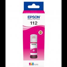 Чорнила Epson 112 Magenta (Червоний) (C13T06C34A)