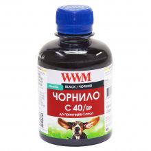 Чернила WWM C40 Black для Canon 200г (C40/BP) пигментные