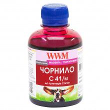Чернила WWM C41 Magenta для Canon 200г (C41/M) водорастворимые