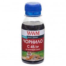 Чернила WWM C45 Black для Canon 100г (C45/BP-2) пигментные