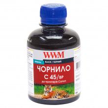 Чернила WWM C45 Black для Canon 200г (C45/BP) пигментные
