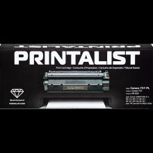 Картридж PRINTALIST  аналог Canon 737 Black (Canon-737-PL)