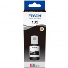 Чернила Epson 103 Black (Черный) (C13T00S14A) 65мл