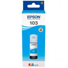 Чорнило Epson 103 Cyan (C13T00S24A) 65мл