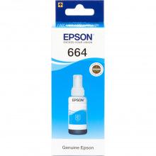 Чернила Epson 664 Cyan (Синий) (C13T66424A) 70мл