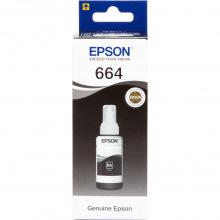 Чернила Epson 664 Black (Черный) (C13T66414A) 70мл