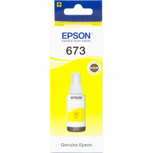 Чернила Epson 673 Yellow (Желтый) (C13T67344A) 70мл