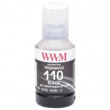 Чорнило WWM 110 Black для Epson 140г (E110BP) пігментне