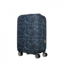 Чехол для чемодана Tucano Compatto Mendini S, Чёрный (BPCOTRC-MENDINI-S-BK)