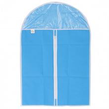 Чохол для зберігання одягу на блискавці (нетканий матеріал + ПВХ) 60х135 см,  Elfe (MIRI93116)