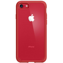Чехол Spigen для iPhone 8/7 Ultra Hybrid 2 Red (042CS21724)