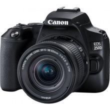 Цифровая фотокамера зеркальная Canon EOS 250D kit 18-55 IS STM Black (3454C007)