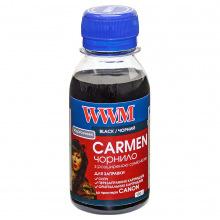 Чернила WWM CARMEN Black для Canon 100г (CU/B-2) водорастворимые
