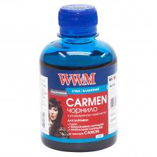 Чорнило WWM CARMEN Cyan для Canon 200г (CU/C) водорозчинне