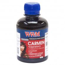 Чорнило WWM CARMEN Photo Black для Canon 200г (CU/PB) водорозчинне
