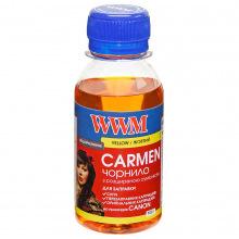 Чорнило WWM CARMEN Yellow для Canon 100г (CU/Y-2) водорозчинне