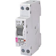 Дифферинциальный автоматический выключатель ETI KZS-1M SUP C 20 / 0,03 тип A (6kA) (верхн. соед.) (2175725)