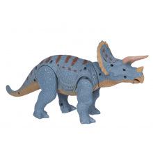 Динозавр Same Toy Dinosaur Planet Трицератопс блакитний (світло, звук) без п/к  (RS6167AUt)