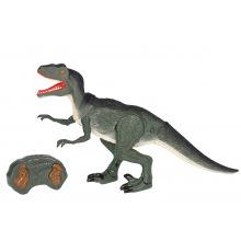 Динозавр Same Toy Dinosaur Planet Велоцираптор зеленый (свет, звук) (RS6134Ut)