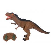 Динозавр Same Toy Dinosaur World Тиранозавр коричневий (світло, звук)  (RS6123Ut)