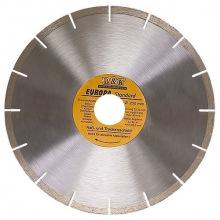 Диск алмазний відрізний сегментний, 125 х 22,2 мм, суха різка, EUROPA Standard, SPARTA (MIRI73163)