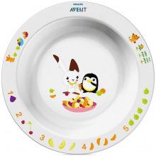 Детская глубокая тарелка Avent 12+ SCF704/00 (SCF704/00)