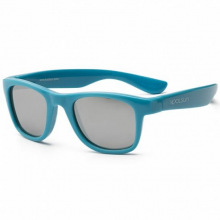 Детские солнцезащитные очки Koolsun голубые серии Wave (Розмір: 1+) (KS-WACB001)