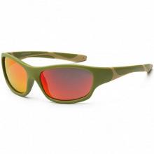 Детские солнцезащитные очки Koolsun цвета хаки серии Sport (Розмір: 6+) (KS-SPOLBR006)