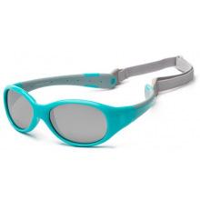 Детские солнцезащитные очки Koolsun  бирюзово-серые серии Flex (Розмір: 3+) (KS-FLAG003)