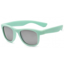 Детские солнцезащитные очки Koolsun  мятного цвета серии Wave (Розмір: 3+) (KS-WABA003)