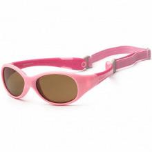 Детские солнцезащитные очки Koolsun розовые серии Flex (Розмір: 3+) (KS-FLPS003)