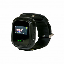 Детские GPS часы-телефон GOGPS ME K11 Черный (K11BK)