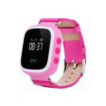 Дитячий GPS годинник-телефон GOGPS ME K11 Рожевий (K11PK)