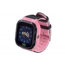 Детские GPS часы-телефон GOGPS ME K12 Розовый (K12PK)