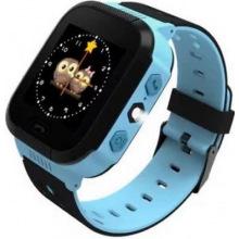 Детские GPS часы-телефон GOGPS ME K12 Синий (K12BL)