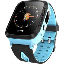 Дитячий GPS годинник-телефон GOGPS ME K13 Синій (K13BL)