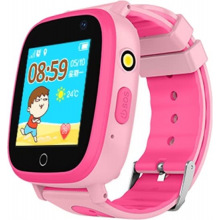 Детские GPS часы-телефон GOGPS ME K14 Розовый (K14PK)