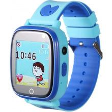 Детские GPS часы-телефон GOGPS ME K14 Синий (K14BL)