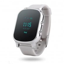 Дитячий GPS годинник-телефон GOGPS ME К20 Хром (K20CH)