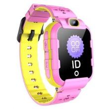 Детские GPS часы-телефон GOGPS ME K22 Рожеві (K22PK)