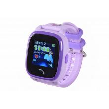 Детские GPS часы-телефон GOGPS ME K25 Пурпурный (K25PR)