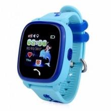 Детские GPS часы-телефон GOGPS ME K25 Синий (K25BL)