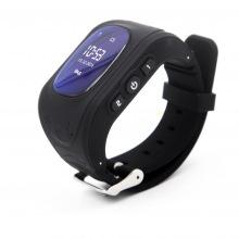 Детские GPS часы-телефон GOGPS ME K50 Черный (K50BK)