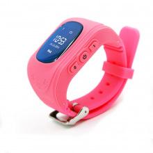 Детские GPS часы-телефон GOGPS ME K50 Розовый (K50PK)